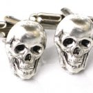 Steampunk - Pirate SKULL Cufflinks - Skeleton cuff links Steam Punk