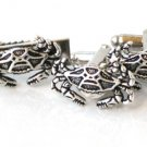 Steampunk NAUTICAL CRAB TIE CLIP + CUFFLINKS SET Antique Silver Steam Punk