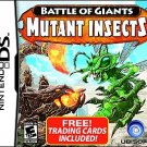 Battle of Giants: Mutant Insects (Nintendo DS, 2010)