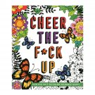 Cheer the F*ck Up Coloring Book-Product Code: 40483
