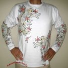 MOMIJI Maple Japanese KOI Irezumi LONG SLEEVE T Shirt M