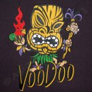 VOODOO Tiki Surf Hawaii Aloha Priere T-shirt Dark Gray L Large