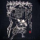 JODO Martial Arts Fighter RONIN Japan Tokyo Yakuza T-Shirt S Small Black