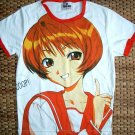 SCOOP Anime Japanese Manga Cap Sleeve T-Shirt Girls Misses XS