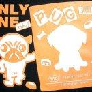 Only One PUG Fun New Japan CISSE Disco Part Puppy Dog T-shirt XL Black BNWT!