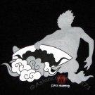 JAPAN SURFING #1 RONIN Yakuza Surf T-Shirt M Black