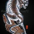 TORA TIGER New RONIN Japan Yakuza T-shirt L Black BNWT!