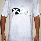 CHICKEN AFFAIR Fun New CISSE T-shirt Asian M White BNWT