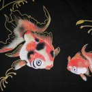Japanese Kingyou GOLDFISH RONIN T-Shirt S BLACK