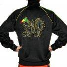 CONQUERING LION of JUDAH Retro REGGAE Track Jacket XL