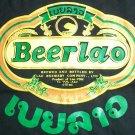 BEER LAO Cool Original Top Quality Laos T-shirt L Large BLACK