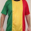Roots Rasta Reggae Dub DJ Mesh T-Shirt Mens M L XL NEW!