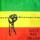 New Irie Roots Rasta UPRISING T-shirt by REGGAE XL Grn
