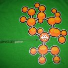 GENETICALLY GAMER New CISSE T-Shirt Asian M Green BNWT!
