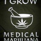 I GROW MEDICAL MARIJUANA New Reggae T-shirt S M L XL