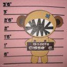 CISSE CONVICT CRIMINAL New T-Shirt Asian M L XL Pink