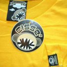 CISSE CONVICT CRIMINAL New T-Shirt Asian L Yellow BNWT