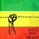 UPRISING New Roots Rasta REGGAE DJ Dub T-shirt M GREEN