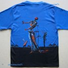 Salvador Dali BURNING GIRAFFE New Art Print T Shirt Mens XL Short Sleeve