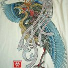 BRILLIANT PHOENIX New Ronin Japan T-shirt XXL Cream NWT