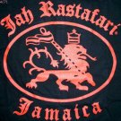 JAH RASTAFARI JAMAICA Lion New REGGAE T-Shirt XL Black