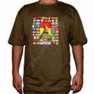 RASTAFARI WORLD REGGAE New Roots Rasta T-Shirt XL Green