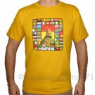 RASTAFARI WORLD REGGAE New Roots Rasta T-Shirt M Yellow