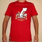 COOKING HAZARD Fun New CISSE T-shirt Asian L RED BNWT!