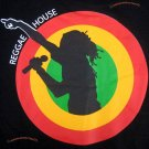 REGGAE HOUSE New Roots Rasta Irie Dub T-shirt M Black