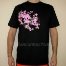 SAKURA Blossoms RONIN Tokyo YAKUZA Japan T-Shirt Black XL
