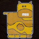 MOO Cow Cute New T-shirt by CISSE Asian XXL Brown BNWT!