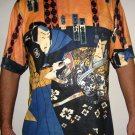 SHARAKU Japan Ukiyoe Samurai Art Print Short Sleeve T Shirt Mens XL Extra Large