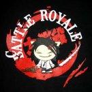 BATTLE ROYALE New T-shirt by CISSE Asian L Black BNWT!