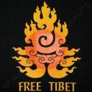 FREE TIBET New Dalai Lama China Freedom T Shirt L Black