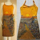 Van Gogh SEMINATORE COL SOLE New Art Print Dress Misses Size XL 16-18