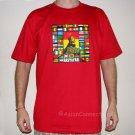 RASTAFARI WORLD REGGAE New Roots Rasta T-Shirt XL Red