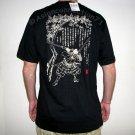 JODO Martial Arts Fighter RONIN Japan Tokyo Yakuza T-Shirt XXL 2XL Black