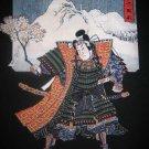 KABUKI ACTOR with SAKURA Ronin Japan Yakuza Tokyo T-Shirt XL Black BNWT