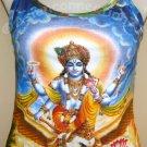 VISHNU GARUDA  Hindu Art Print Shirt TANK TOP Misses Size S Small