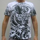 RYU Dragon IREZUMI Japan Tattoo Short Sleeve T Shirt L
