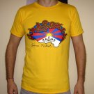 SAVE TIBET Dalai Lama China Freedom T Shirt M Yellow