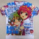 ANIMAGE New Japanese ANIME Cap Sleeve MANGA T-Shirt XS