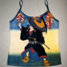KABUKI New Japanese Ukiyoe Art Print Tank Top Misses L