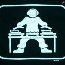GLOW IN THE DARK DJ Turntable Party T-Shirt L Black NEW!