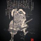 NAGINATA SPEAR SAMURAI Japanese RONIN Yakuza Tokyo Japan T-Shirt L Black BNWT
