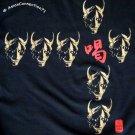 ONI DEVILS Japanese RONIN Tokyo Japan Yakuza T-shirt L Large Black