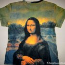 MONA LISA Leonardo Da Vinci New Cap Sleeve Fine Art Print T Shirt Misses XL