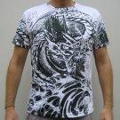 RYU Dragon IREZUMI Japan Tattoo Short Sleeve T Shirt M