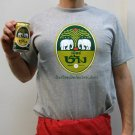 CHANG BEER Cool Thai Quality Cotton T-shirt M Medium GRAY Thailand Lager