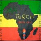 JAH TORCH New Africa Roots Rasta REGGAE T-Shirt XL Blk